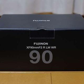 フジフイルム(富士フイルム)の新品 未使用 fujifilm xf90mm f2  新品プロテクタ付き(レンズ(単焦点))