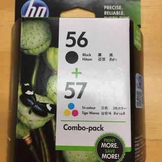 ヒューレットパッカード(HP)のHPインクおまけ付き/コンボパック56+57 更に追加でHP571コ付き!(オフィス用品一般)