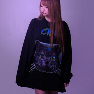 フーガ(FUGA)の【タグ付き未使用】TRAVAS TOKYO ネコ ロンT(Tシャツ/カットソー(七分/長袖))