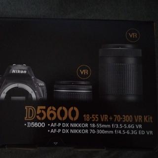 ニコン(Nikon)のnamican様専用 D5600-W70300KIT ダブルズームキット  (デジタル一眼)