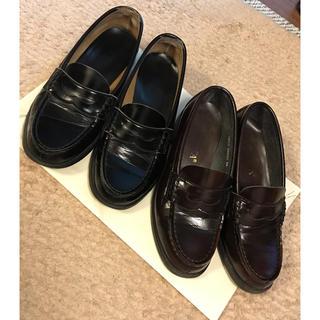 ハルタ(HARUTA)のHARUTA 23cm ブラック・ブラウン 二足セット(ローファー/革靴)