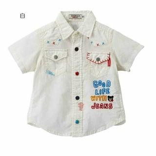 ミキハウス(mikihouse)の新品 ミキハウス ダブリB 110 半袖シャツ(Tシャツ/カットソー)