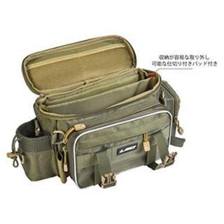 釣りバッグ フィッシングバッグ 大容量  緑(釣り糸/ライン)
