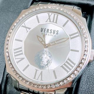 ヴェルサーチ(VERSACE)の◆世界限定品◆新品 高級VERSUS VERSACE 腕時計 ホワイトクリスタル(腕時計(アナログ))