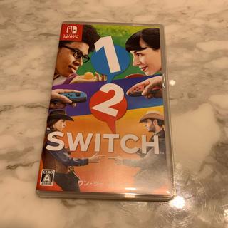 ニンテンドースイッチ(Nintendo Switch)の「1-2-Switch」 ワンツースイッチ 任天堂 switch(家庭用ゲームソフト)