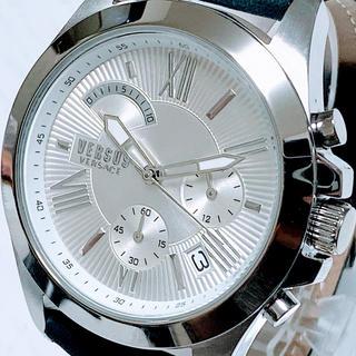 ヴェルサーチ(VERSACE)の◆世界限定品◆新品 高級VERSUS VERSACE 腕時計 ホワイト(腕時計(アナログ))