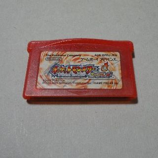 ゲームボーイアドバンス(ゲームボーイアドバンス)のポケットモンスター ファイアレッド ソフトのみ(携帯用ゲームソフト)