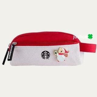 スターバックスコーヒー(Starbucks Coffee)の入手困難‼️正規【直営店購入・日本未入荷 STARBUCKSペンケース&ポーチ】(ペンケース/筆箱)