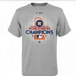 Majestic - MLB アストロズ ワールドシリーズ制覇2017年 記念Tシャツ
