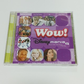 ディズニー(Disney)の「Wow! Disney mania 4」のCD(ポップス/ロック(洋楽))