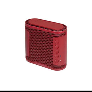 オーディオテクニカ(audio-technica)のオーディオテクニカ SOLID BASS ワイヤレススピーカー レッド 新品(スピーカー)