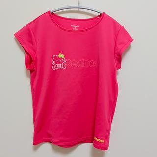 リーボック(Reebok)のReebok×ハローキティスポーツ用Tシャツ(Tシャツ(半袖/袖なし))