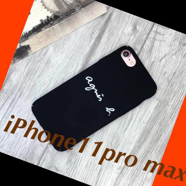 hermes iPhone 11 ProMax ケース 手帳型 | iPhoneケース iPhone11pro max アニエスベー ブラックの通販 by momo|ラクマ