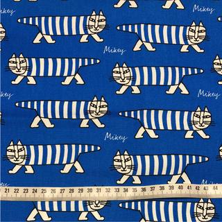 リサラーソン(Lisa Larson)のリサラーソン 生地 マイキー  ブルー(生地/糸)