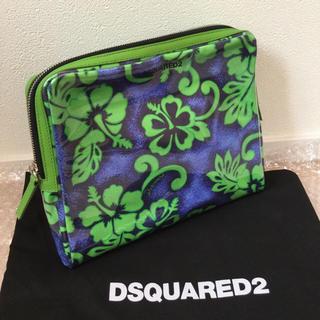 ディースクエアード(DSQUARED2)の【新品】ディースクエアード クラッチバッグ DSQUARED2 (セカンドバッグ/クラッチバッグ)
