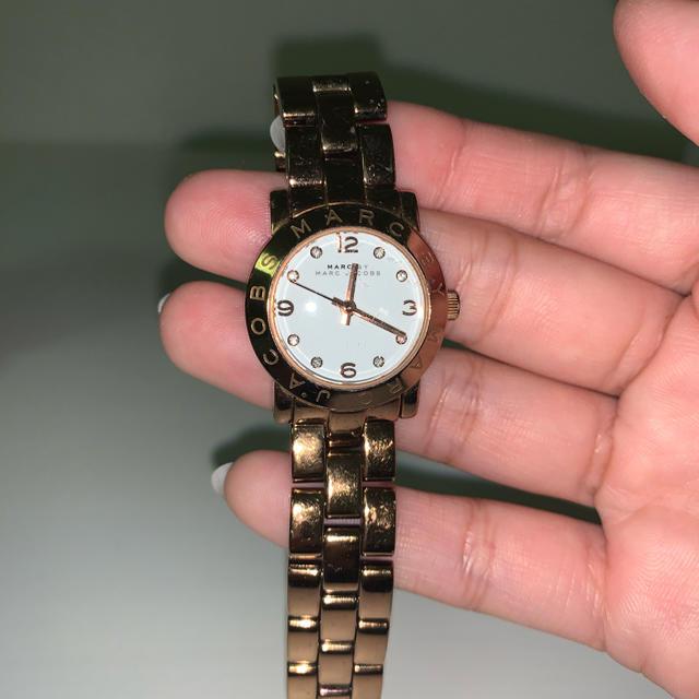 ウェンガー 時計 激安アマゾン   MARC BY MARC JACOBS - マークジェイコブス ピンクゴールド時計の通販