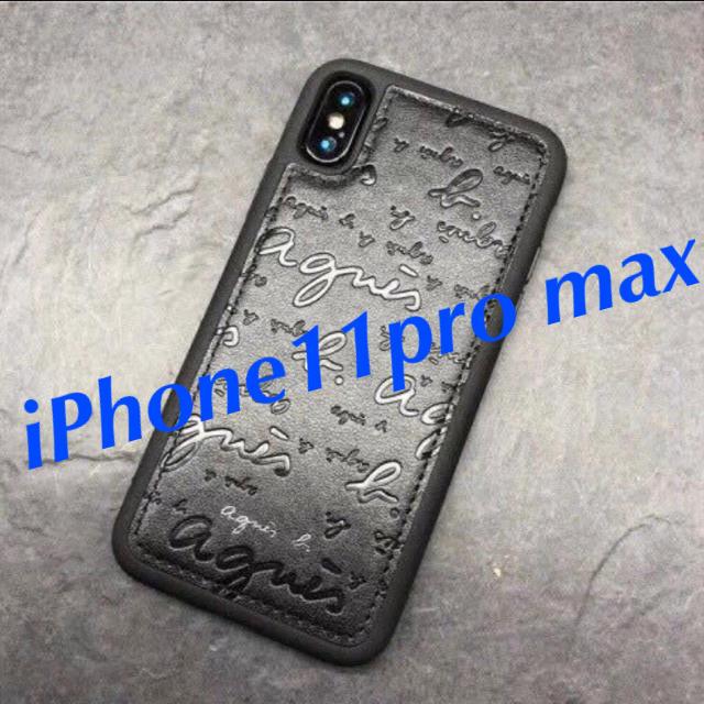 シャネル iPhone 11 ケース 財布型 / iPhone11pro max アニエスベー  ハードケース ブラックの通販 by momo|ラクマ
