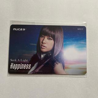 ハピネス(Happiness)のHappiness☆Seek A Light☆MIYUU☆MCカード(^∇^)(ミュージシャン)
