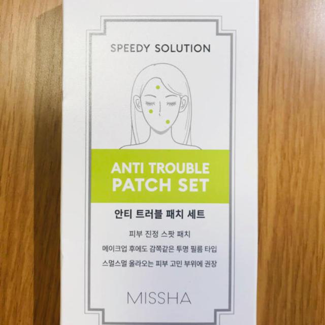 MISSHA(ミシャ)のニキビパッチ MISSHA 6パック コスメ/美容のスキンケア/基礎化粧品(その他)の商品写真