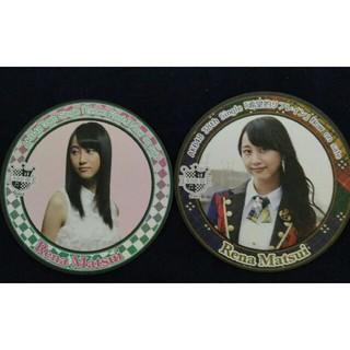 SKE48 - AKB48 松井玲奈 コースターセット SKE48 乃木坂46