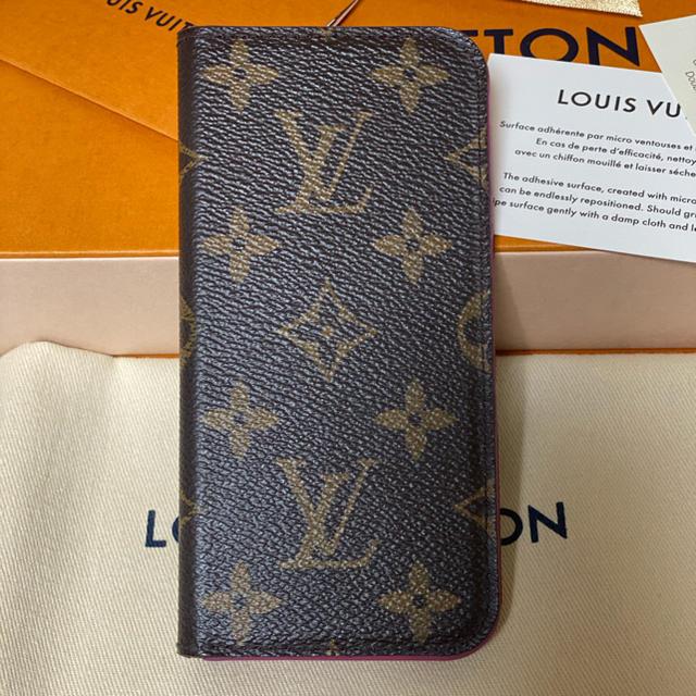 LOUIS VUITTON - ルイヴィトン モノグラム iPhoneケースの通販