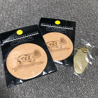 ロンハーマン(Ron Herman)のTES テス コースター4枚&キーホルダー セット(テーブル用品)