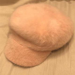 ウィゴー(WEGO)のファー キャスケット 帽子(キャスケット)