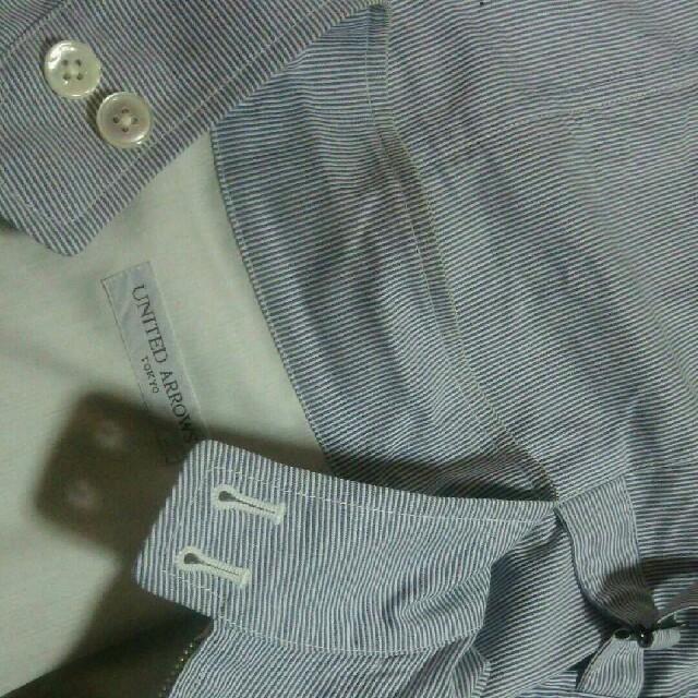 UNITED ARROWS(ユナイテッドアローズ)のUNITED ARROWS ストライプ ドリズラージャケット Sサイズ セレクト メンズのジャケット/アウター(その他)の商品写真