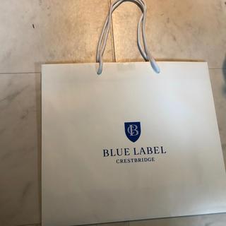 バーバリーブルーレーベル(BURBERRY BLUE LABEL)のバーバリー ブルーレーベル 紙袋 ショップ袋(ショップ袋)