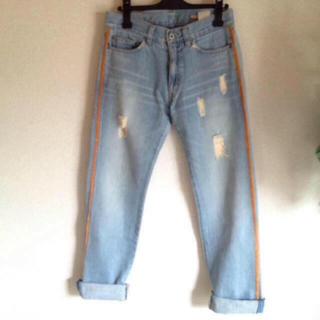 ダブルスタンダードクロージング(DOUBLE STANDARD CLOTHING)のダブスタのボーイフレンドデニム 36(デニム/ジーンズ)