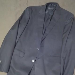 ムジルシリョウヒン(MUJI (無印良品))の無印良品 MUJI 黒ジャケット サイズL 美品 ユニクロ(テーラードジャケット)