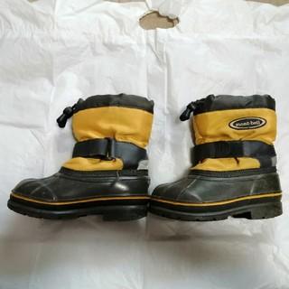 モンベル(mont bell)のモンベル monbell 18cm 子供用ブーツ スノーブーツ アウトドア(アウトドアシューズ)