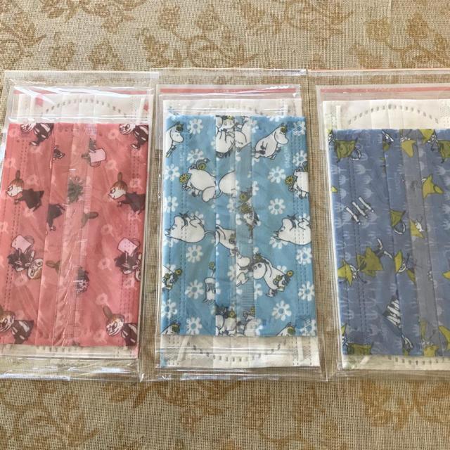 マスク セット 、 ムーミン親子マスク 6枚セット 花粉症 日焼け対策の通販 by たまちゃん's shop