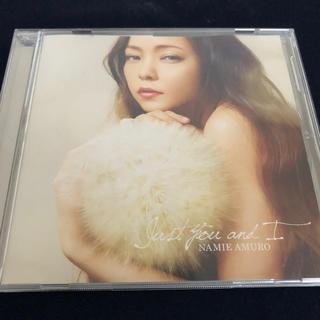 安室奈美恵 CD   Just you and I(ポップス/ロック(邦楽))