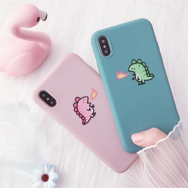 iphone 11 ケース 純正 / iPhoneケース 赤ちゃん恐竜 6/7/8/X/XS/XR/11/11proの通販 by はっぴい's shop|ラクマ