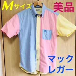 マックレガー(McGREGOR)のマックレガー★クレイジーパターン★半袖 ボタンダウンシャツ 切替シャツ(シャツ)
