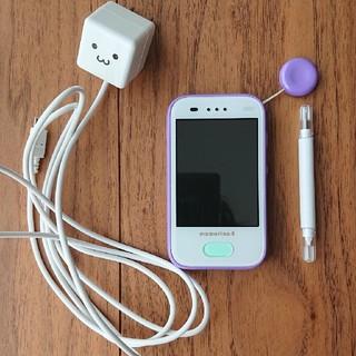 エーユー(au)のau   マモリーノ4 中古  必要でしたら充電器付けます(携帯電話本体)