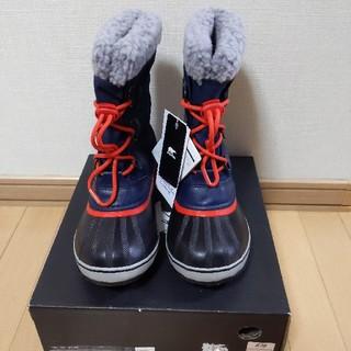 ソレル(SOREL)のSOREL ソレル キッズ ユートパックナイロンウィンターブーツ22cm(ブーツ)
