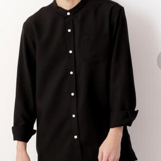【MONO-MART】バンドカラーシャツ(シャツ)