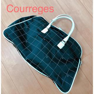 クレージュ(Courreges)の♡クレージュ♡   ボストンバッグ   ブラック  ホワイト  旅行(ボストンバッグ)