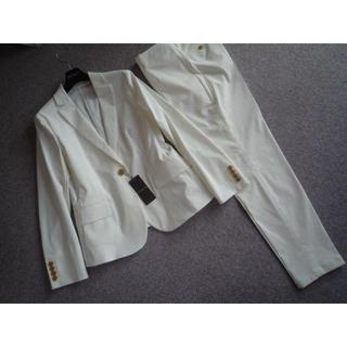 マッキントッシュ(MACKINTOSH)の新品  マッキントッシュクールストレッチパンツスーツ40 白85800円(スーツ)
