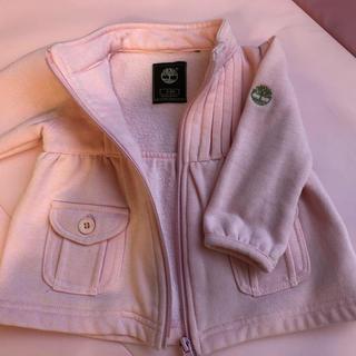 Timberland - ティンバーランドベビー服 ピンクジャケット3ヶ月〜6ヶ月