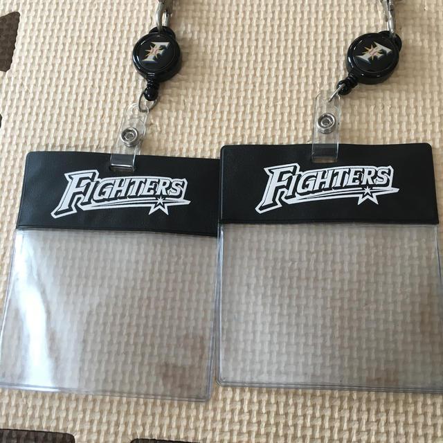 北海道日本ハムファイターズ(ホッカイドウニホンハムファイターズ)のファイターズ カードケース スポーツ/アウトドアの野球(応援グッズ)の商品写真