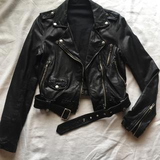 OPENING CEREMONY - ラムレザー ライダースジャケット
