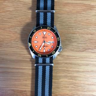 セイコー(SEIKO)のseiko オレンジモンスター セイコー ダイバー ダイバース(腕時計(アナログ))