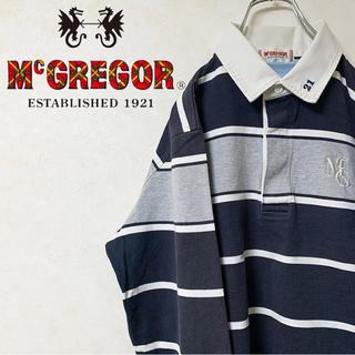 McGREGOR - McGREGOR マックレガー ラガーシャツ 90s 激レア