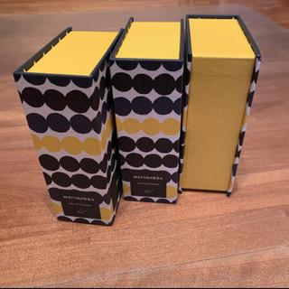 マリメッコ(marimekko)のmarimekko マリメッコ  箱のみ 3個セット(その他)