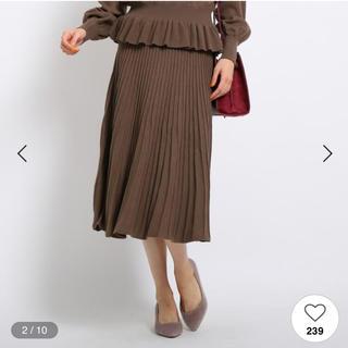エージーバイアクアガール(AG by aquagirl)のアクアガール プリーツスカート(ロングスカート)