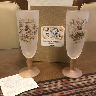 トウヨウササキガラス(東洋佐々木ガラス)のDisnny × 佐々木硝子 『ペアジュースセット』(グラス/カップ)