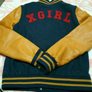 エックスガール(X-girl)のX girl スタジャン(スタジャン)
